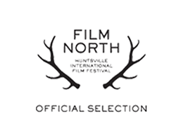 An image of a Film North offical selection stamp Jeremy Roberston Wedding Films received for Toronto Wedding Video