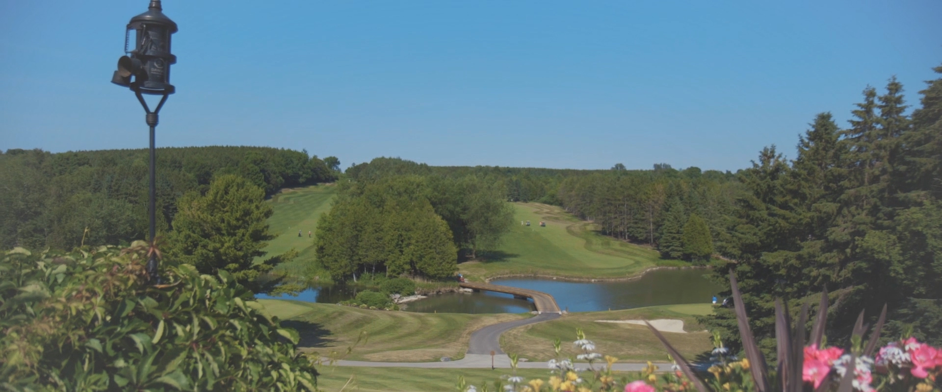 An image of a King valley golf course on the day of a wedding; taken from a Toronto Wedding Video