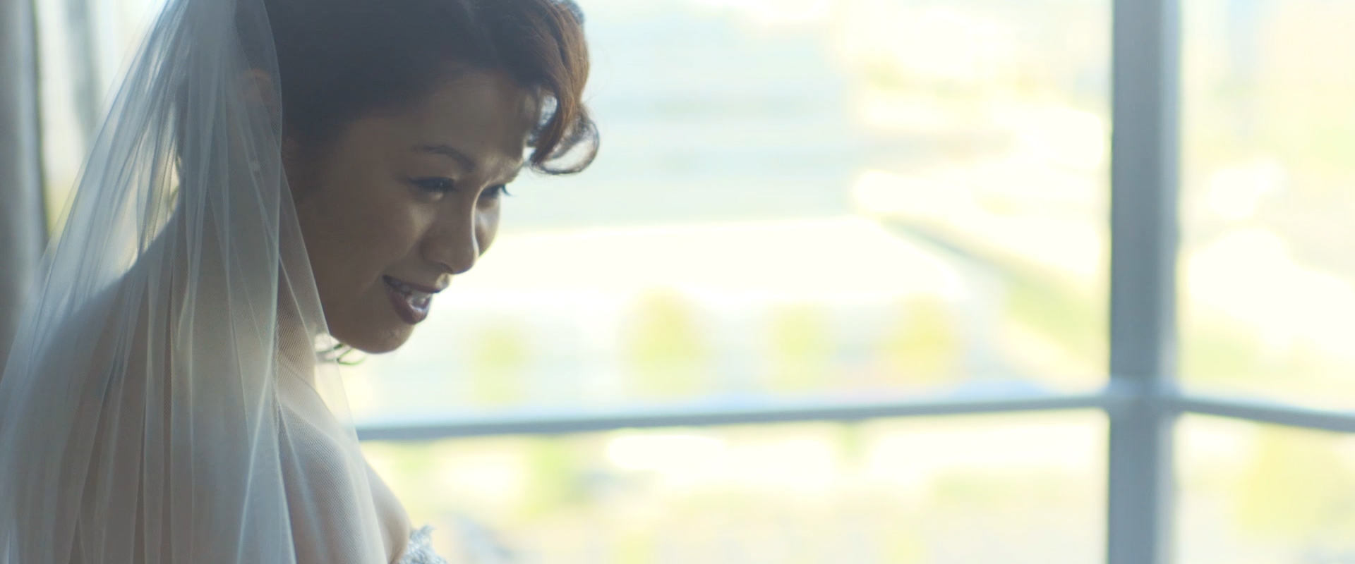 An image of a bride getting ready on her wedding day; taken from one of our Toronto Wedding Videos