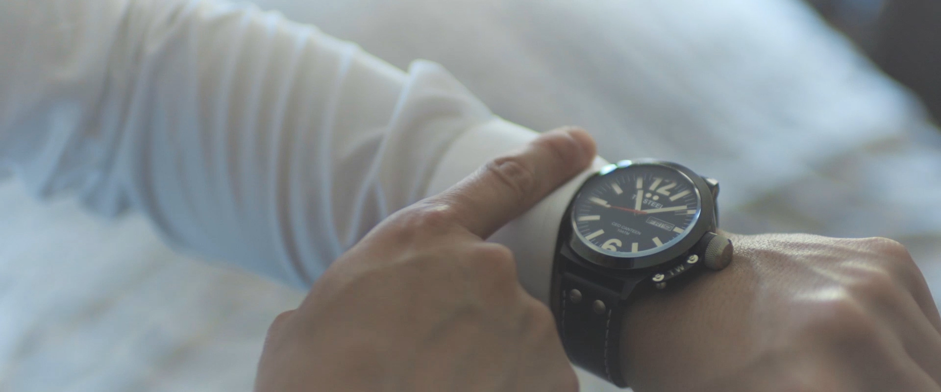 An image of the grooms watch as he gets ready for his wedding day; taken from one of our Toronto Wedding Videos