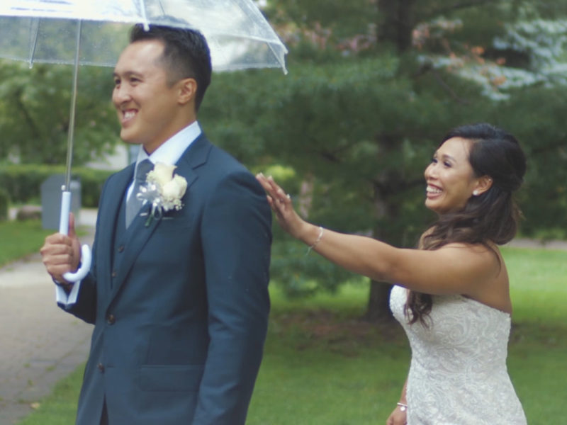 FUN MARKHAM AND TORONTO WEDDING WITH FIRST LOOK