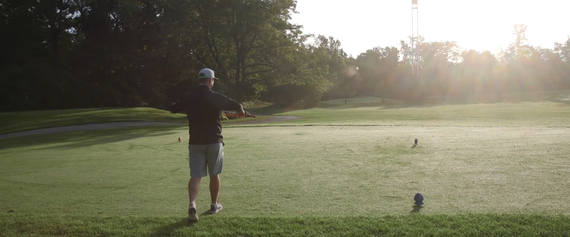 Image of a groom at lionhead golf club taken from one of our Toronto Wedding Videography videos