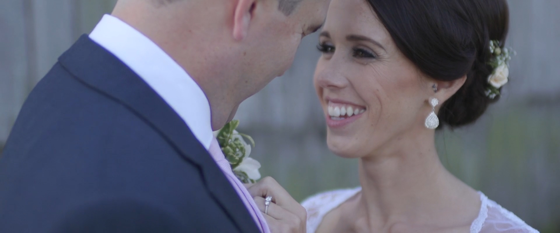 Image of a couple taken from one of our Toronto Wedding Videography videos